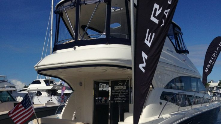 Meridian Boats showing strong growth in Australia